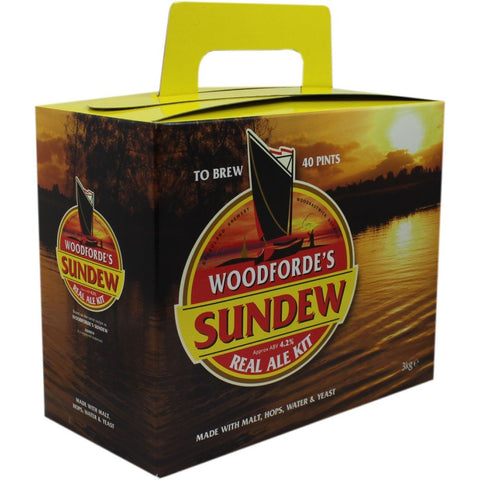 Woodfordes Sundew 40pt Home Brew Beer Kit - Brewers Barn
