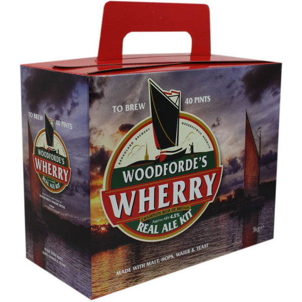Woodfordes Wherry Bitter 40pt Home Brew Beer Kit - Brewers Barn - 1