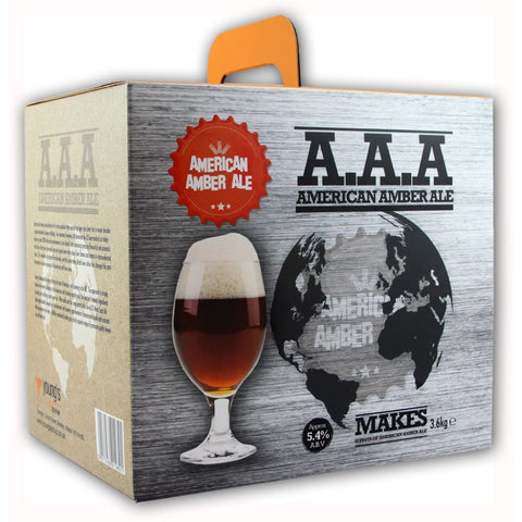 Youngs American Amber Ale 40 Pint Home Brewing Kit - Brewers Barn