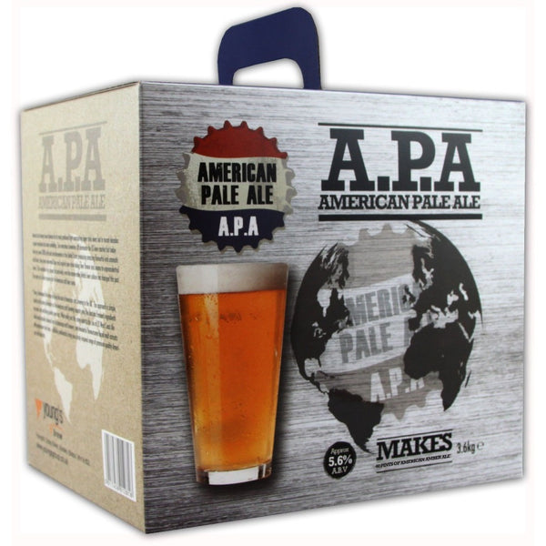 Youngs American Pale Ale 40 Pint Home Brewing Kit - Brewers Barn