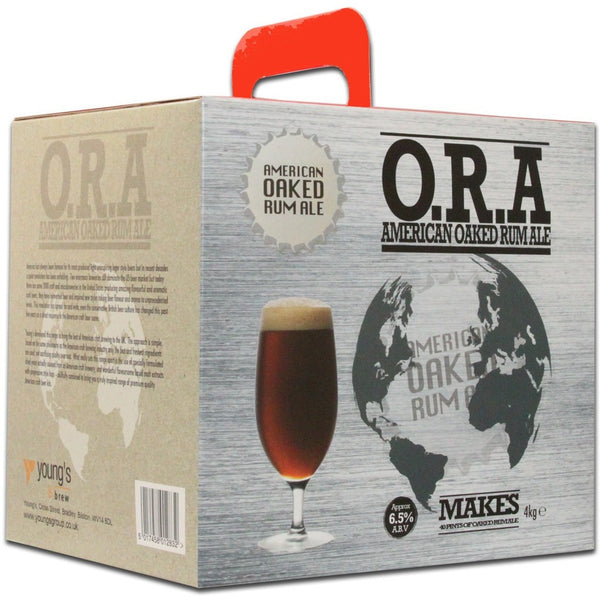 Youngs American Oaked Rum Ale 40 Pint Home Brewing Kit - Brewers Barn