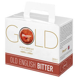 Muntons Gold Old English Bitter 40pt Home Brewing Kit - Brewers Barn