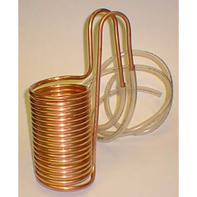 Copper Immersion Wort Chiller - Brewers Barn - 1