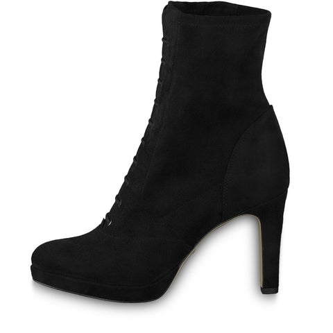 Tamaris black suede boot