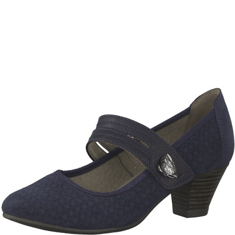 jana navy dress shoe