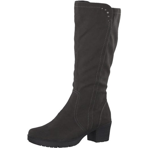 Jana grey suede boot