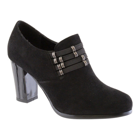 susst black suede shoe