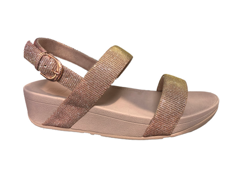 Fitflop Lottie Glitz Sandal Rose Gold Was €90 now €72
