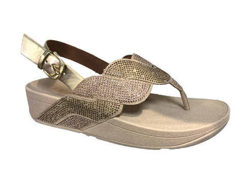 Fitflop Paisley Rose Sandal Platino Was €120 now €96