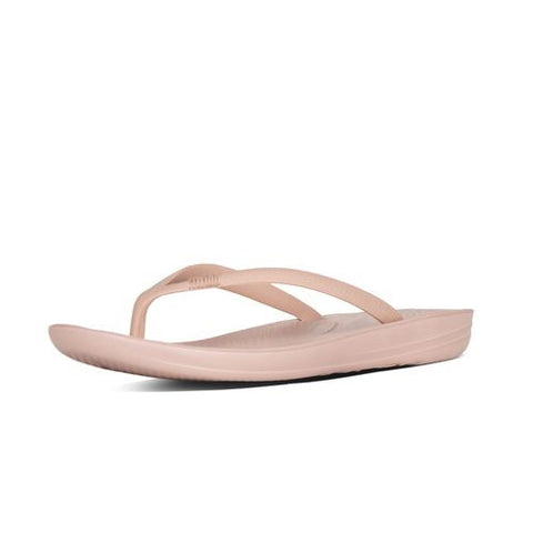 IQUSHION SUPER-ERGONOMIC TOE-THONG SANDALS NUDE
