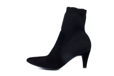 Unisa black suede boot