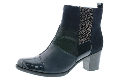 Rieker navy ankle boot