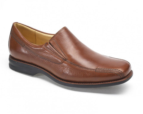 Men's leather wide fitting shoe anatomic belem tan