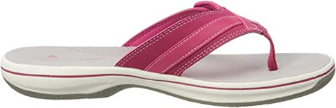 Clarks Brinkley Sea Bright Rose Synthetic