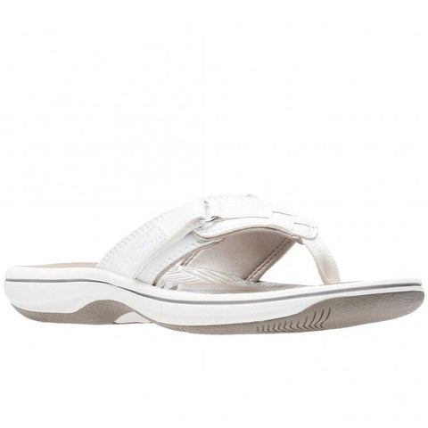 Clarks Brinkley Sea White Synthetic