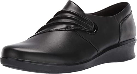 Clarks Hope Shine Black Leather