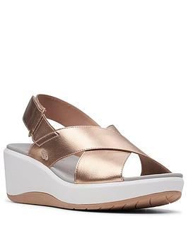 Clarks Step Cali Cove Rose Gold Was €60 now €42
