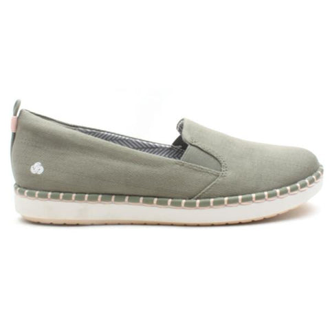 Clarks Step Glow Slip Dusty Olive Was €55 now €44