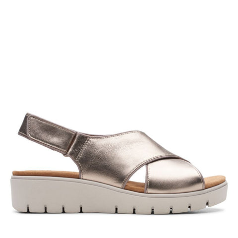 Clarks Un Karely Sun Gold Metallic