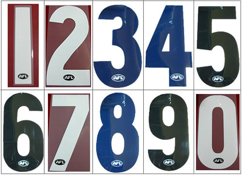 Official AFL Jumper Number - Spectator Sports Online