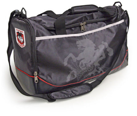 St George Dragons Travel Training Shoulder Sports Bag - Spectator Sports Online