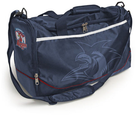 Sydney Roosters Travel Training Shoulder Sports Bag - Spectator Sports Online