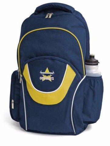 North Queensland Cowboys NRL Fusion School Backpack Bag - Spectator Sports Online