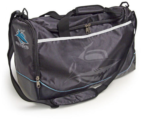 Cronulla Sharks  Travel Training Shoulder Sports Bag - Spectator Sports Online