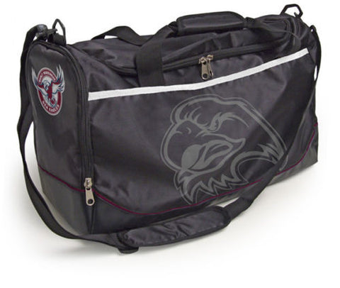 Manly Sea Eagles Travel Training Shoulder Sports Bag - Spectator Sports Online