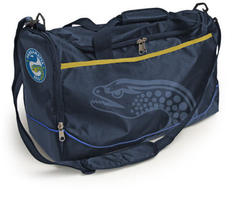 Parramatta Eels Travel Training Shoulder Sports Bag - Spectator Sports Online - 1