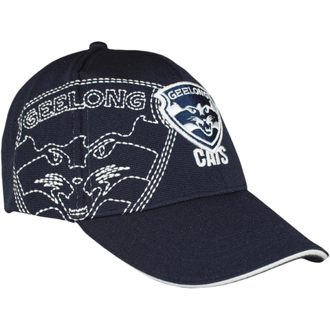 Geelong Cats Mens Essentials Cap - Spectator Sports Online