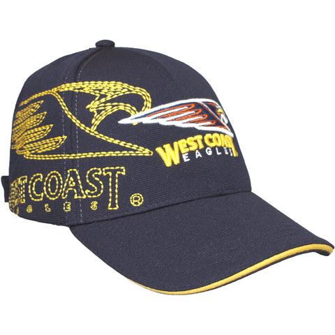 West Coast Eagles Essentials Cap - Spectator Sports Online