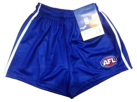 North Melbourne Kangaroos Boys Youths Replica Playing Shorts - Spectator Sports Online