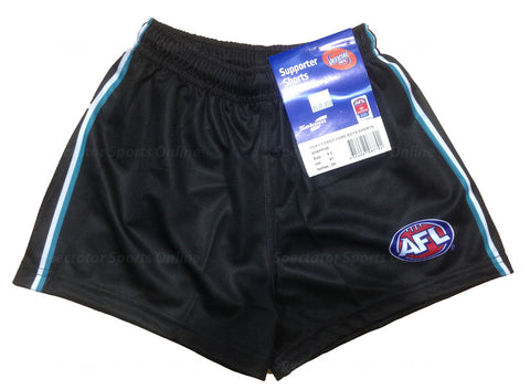 Port Adelaide Power Boys Youths Replica Playing Shorts - Spectator Sports Online