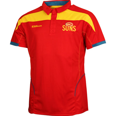 Gold Coast Suns Premium Polo T-Shirt - Spectator Sports Online - 1