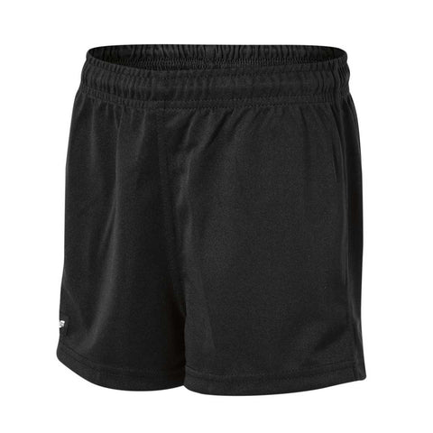 Boys Youths Plain Baggy Shorts Black