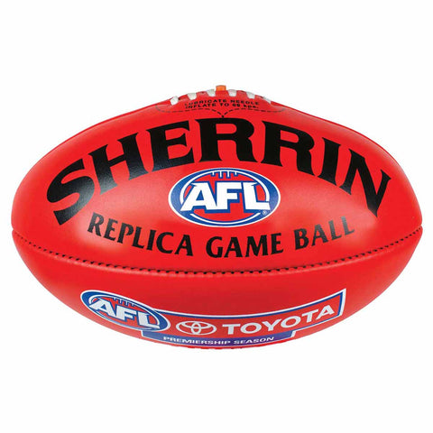 Sherrin Official AFL Replica Game Football PVC Mini 20cm