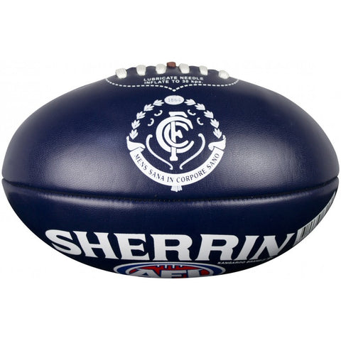 Carlton Blues PVC Softie 20cm Football