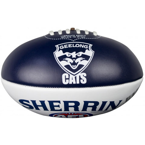 Geelong Cats PVC Softie 20cm Football