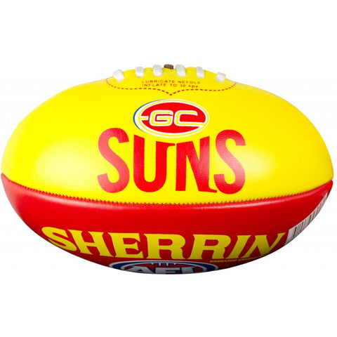 Gold Coast Suns PVC Softie 20cm Football