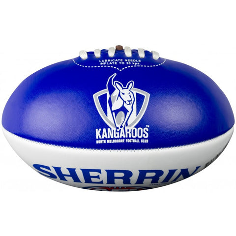 North Melbourne Kangaroos PVC Softie 20cm Football