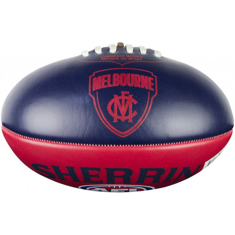 Melbourne Demons PVC Softie 20cm Football