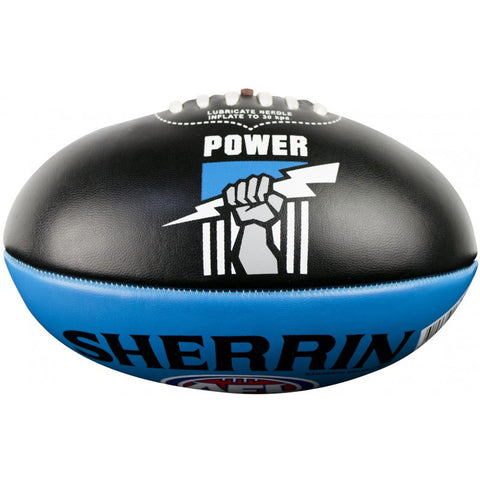 Port Adelaide Power PVC Softie 20cm Football