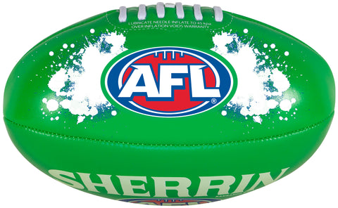 Sherrin Kangaroo Soft Touch Youth Glow-In-The-Dark Football