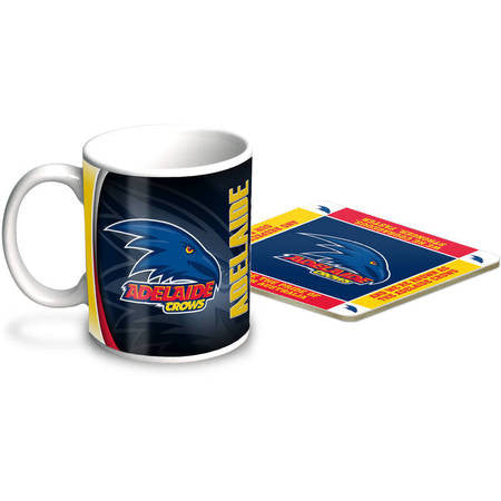 Adelaide Crows Mug & Coaster Gift Pack - Spectator Sports Online