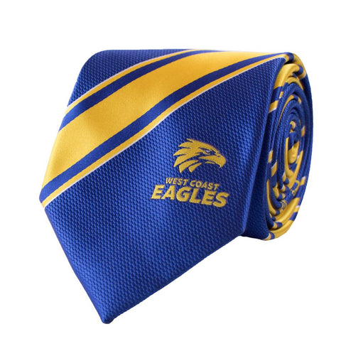 West Coast Eagles Stripe Tie