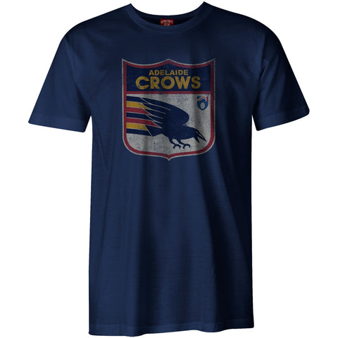 Adelaide Crows Mens Adults Heritage Retro Tee