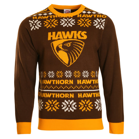 Hawthorn Hawks 2018 Mens Ugly Sweater