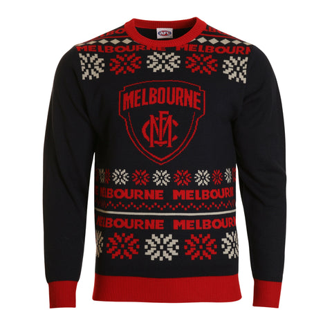Melbourne Demons 2018 Mens Ugly Sweater