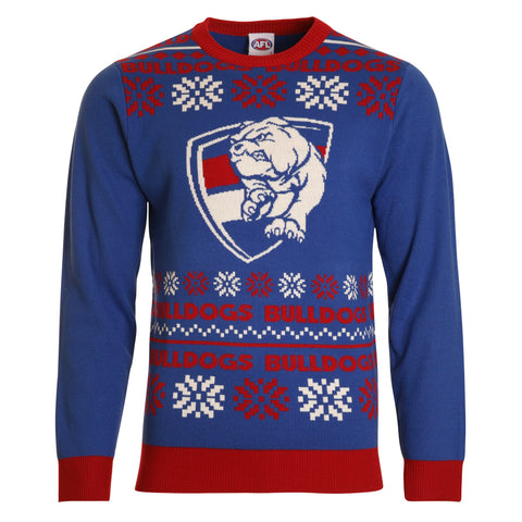 Western Bulldogs 2018 Mens Ugly Sweater